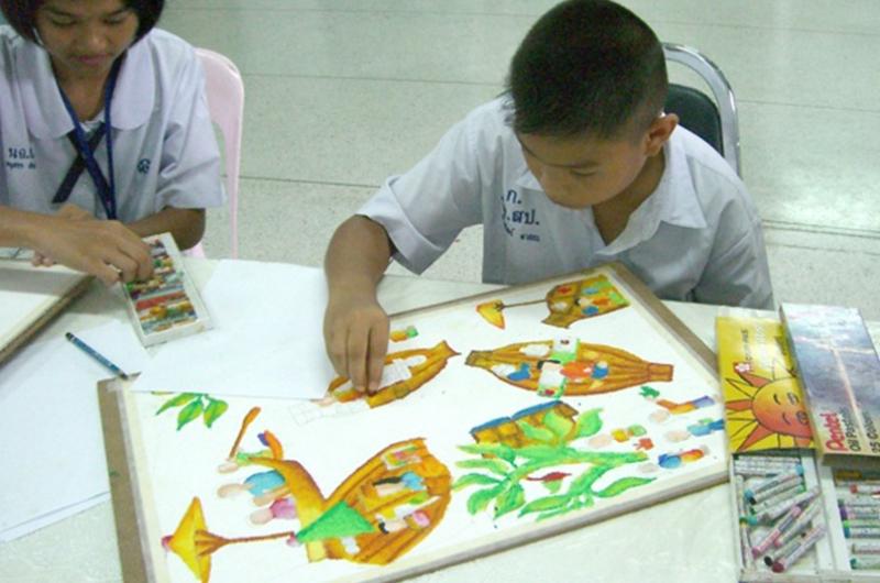 การประกวดวาดภาพศิลปะสะท้อนความซื่อสัตย์สุจริต